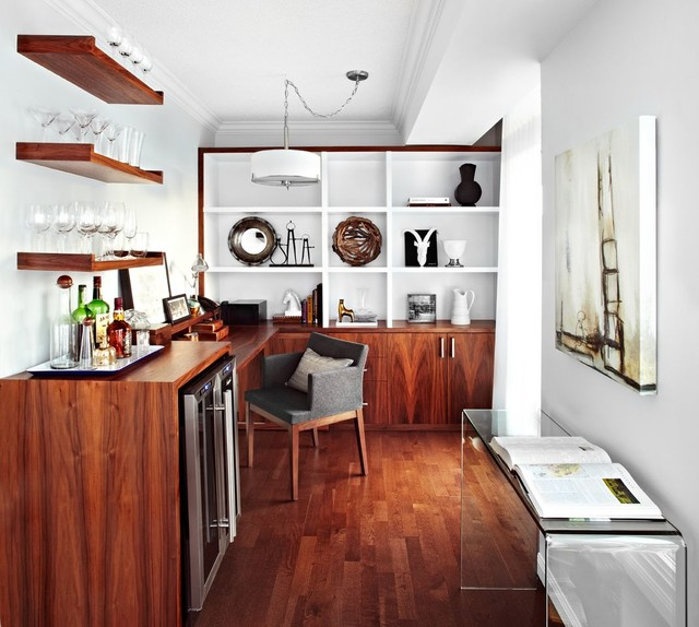 Lucio Suite Condo Design Interior Calgary Contemporary Home Office And