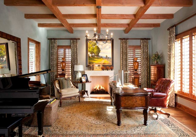 Lupton traditional-home-office