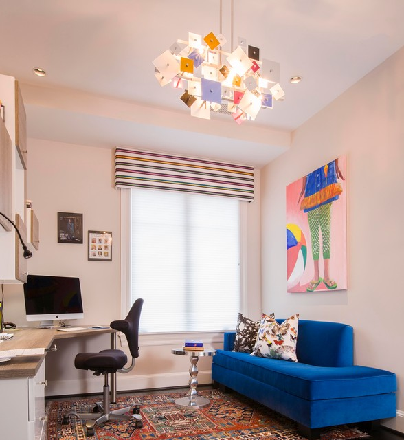 Luxury Condo - Downtown Washington DC - Contemporary - Home Office - dc metro - by Weiss ...