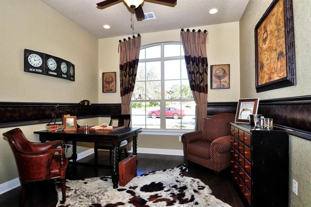 M/I Homes of San Antonio: Napa Oaks - Zoeller Model transitional-home-office