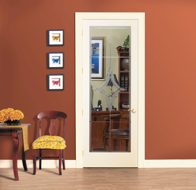 madison decorative glass interior door home office