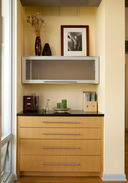 Magnolia Mid-Mod - Midcentury - Home Office - seattle - by ...