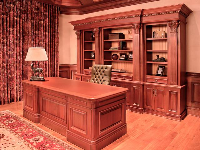tracy model home office. Mahogany Office Traditional-home-office-and-library Tracy Model Home