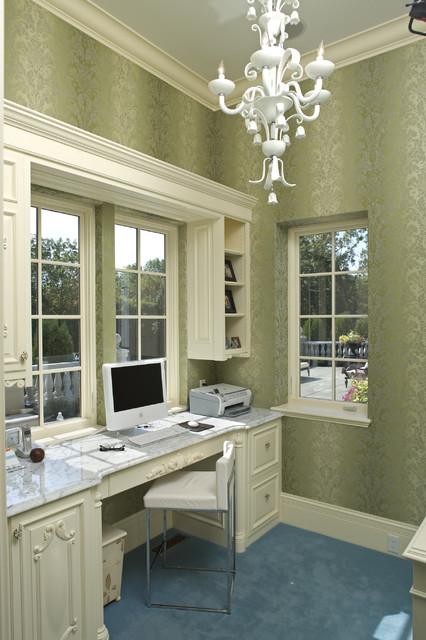 Main Floor Office mediterranean-home-office