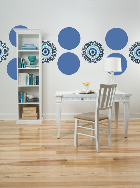 Malaya by WallPops Available in Dots, Blox and Stripes home-office