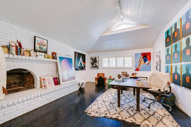 Malibu Ranch Style eclectico-despacho