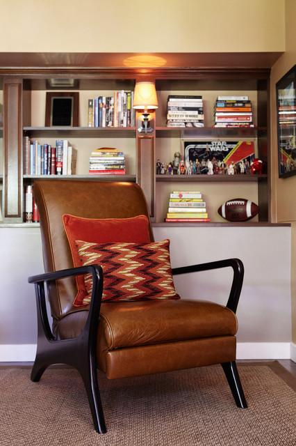 Man Cave Home Office : Man cave home office eclectic los