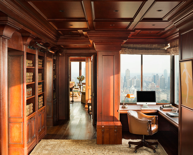 Manhattan central park penthouse traditional home for Central park penthouses