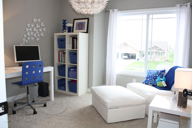 blue home office. \ Blue Home Office A