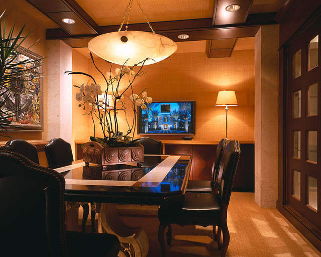Marc-Michaels Interior Design traditional-home-office