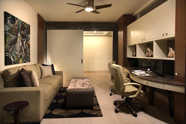 Marco island makeover contemporary home office other for Office design group inc