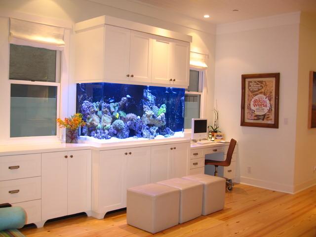 marco modern beach craftsman seal beach ca tropical home office aquarium office