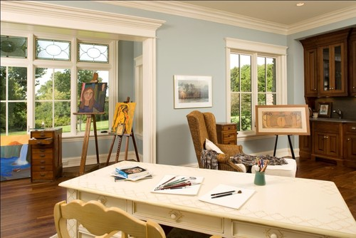 Mare Barn Common Areas traditional home office