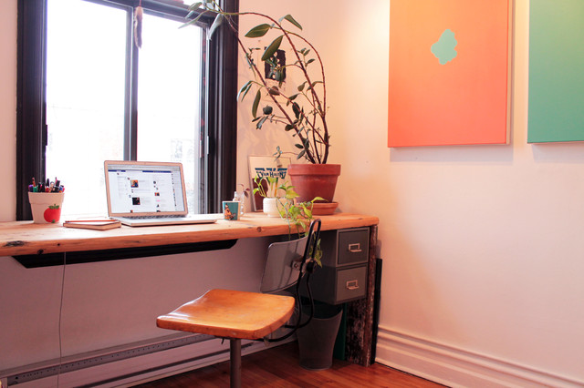 Marie Laurence and Johan eclectic-home-office