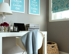Marina Flat Office transitional-home-office