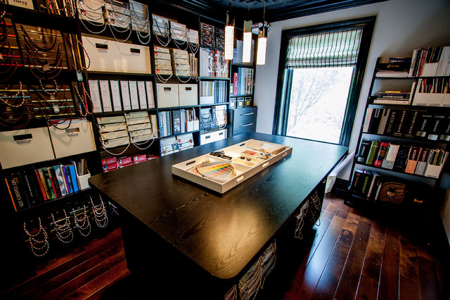 Materials Library and Studio - Contemporary - Home Office - Chicago ...