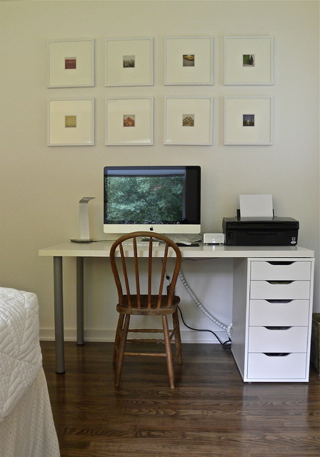 Matt & Mary Emma Hawthorne - Midcentury - Home Office - Dallas - by ...