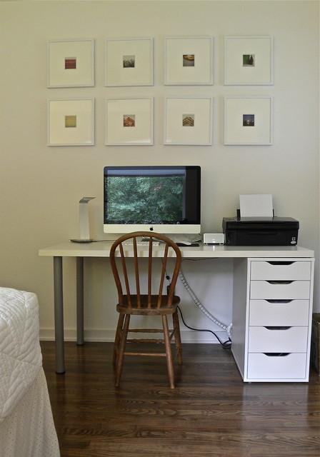 Matt & Mary Emma Hawthorne midcentury-home-office