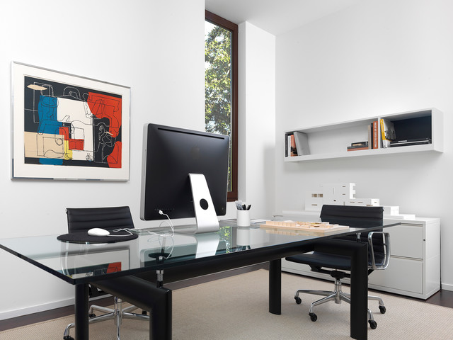 Mayfair Road Houses Contemporary Home Office