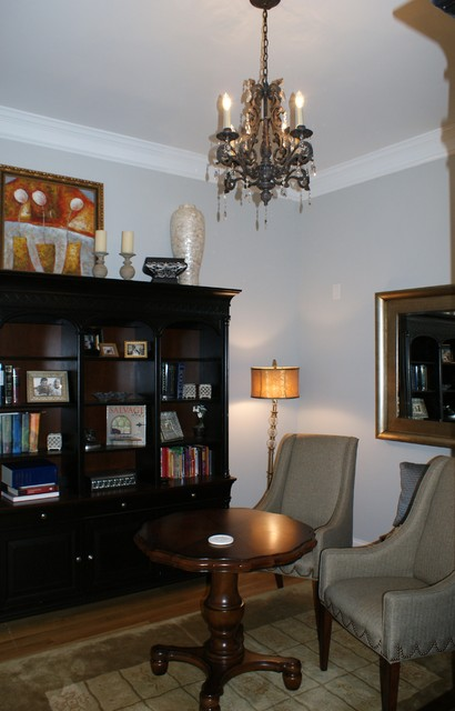 McAleer Residence traditional-home-office