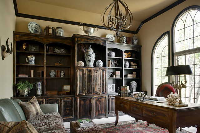 McCroskey Interiors traditional-home-office