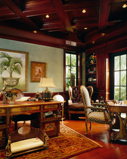Ramona Model Pompano Beach, FL - Mediterranean - Home Office - Miami - by Perla Lichi Design