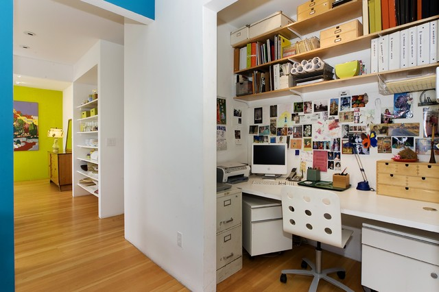 Mercedes Corbell contemporary-home-office