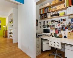 Mercedes Corbell contemporary-home-office