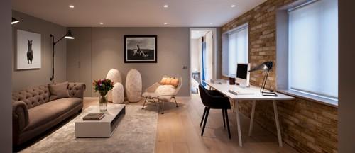 Mews House refurbishment in London Fitzrovia