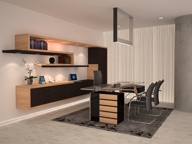 Inspiration For A Modern Home Office Remodel In Miami