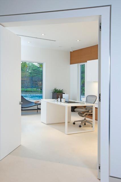Miami interior design detailed minimalism modern for Minimalist house miami