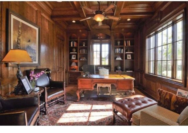 Michael molthan luxury homes libraries and study for Luxury traditional homes