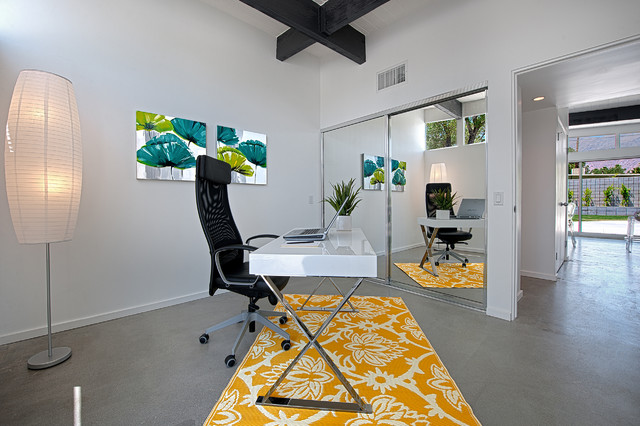 Mid-Century Alexander Office modern home office