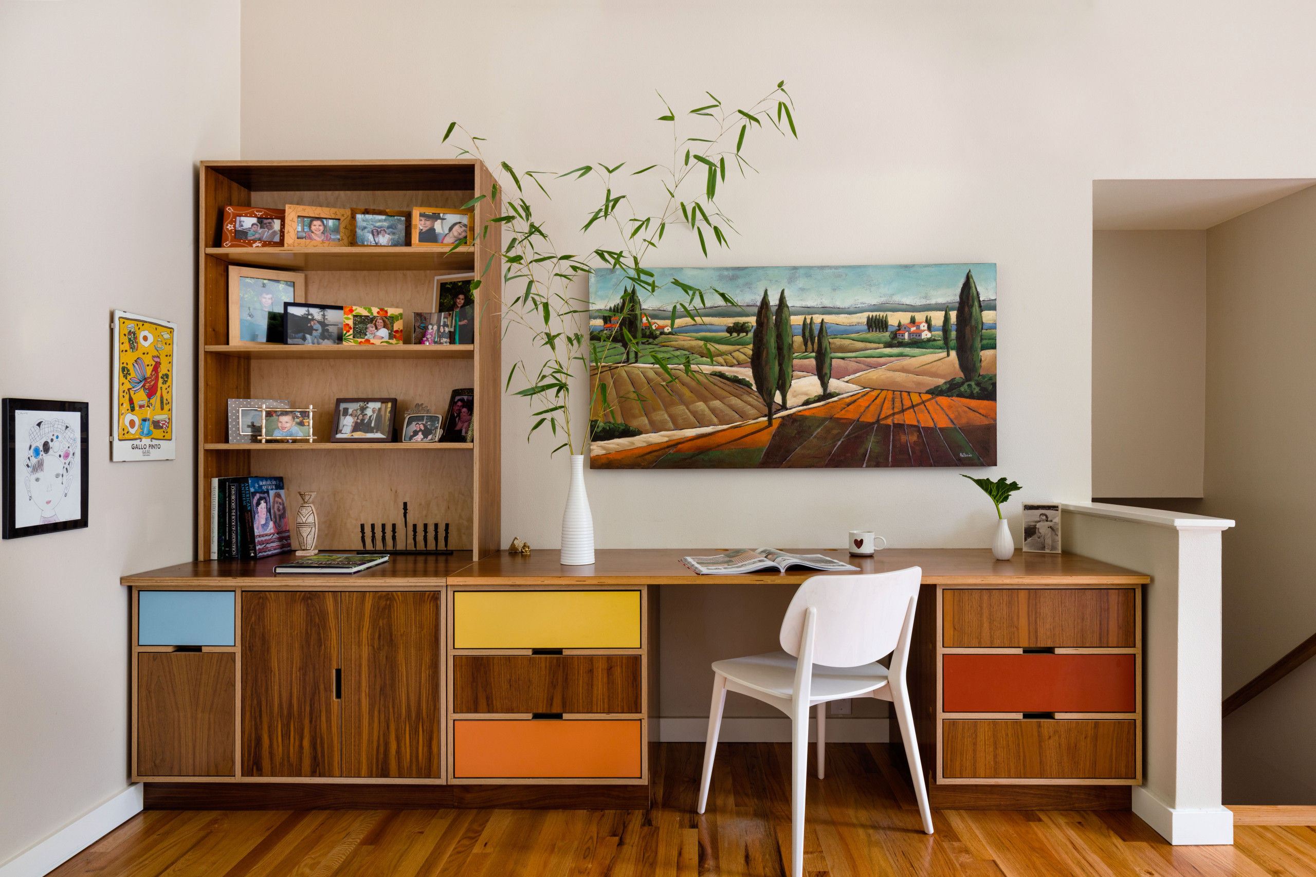 Image of: 75 Beautiful Mid Century Modern Home Office Pictures Ideas November 2020 Houzz