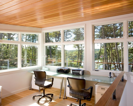 Cape cod sunroom home design ideas pictures remodel and for Sunroom office design
