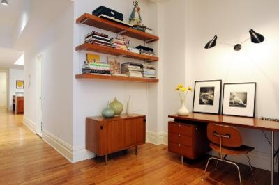 Abelow Sherman Architects LLC - midcentury - home office - new ...