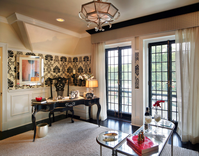 Mill Neck Manor Showcase Contemporary Home Office New York By