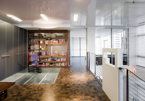 Millennium Tower Loft-Home Office modern home office