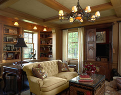 Minnesota Private Residence traditional-home-office