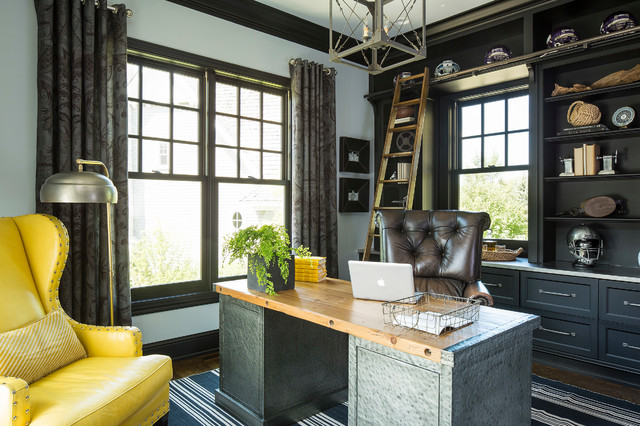Minnesota Residence Transitional Home Office Minneapolis By Martha O 39 Hara Interiors