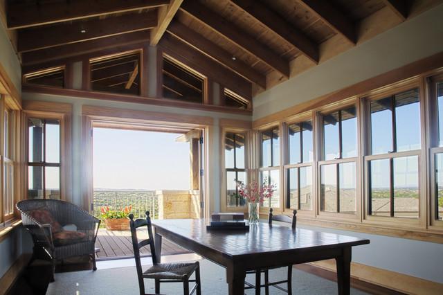 Mirador Second Floor Study traditional-home-office