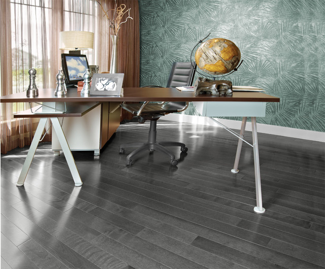 Mirage Hard Wood Flooring Contemporary Home Office