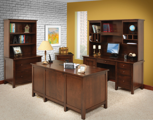 Mission furniture transitional home office nashville by gish 39 s amish legacies - Home office furniture nashville ...