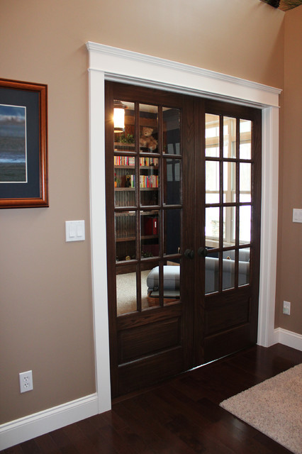 Mission style for Craftsman style office