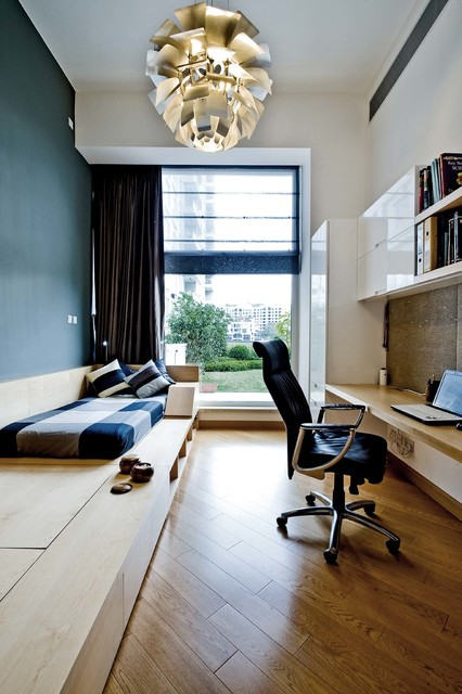 Mix with vintage contemporary home office hong kong for Interior design agency hong kong