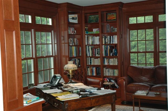 modern classics study traditional home office