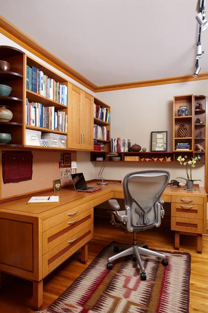 Modern Craftsman craftsman-home-office