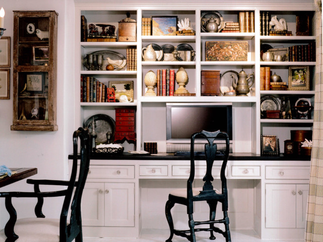modern design traditional home office
