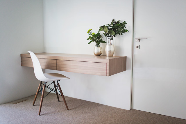 Example Of A Danish Home Office Design In Salt Lake City
