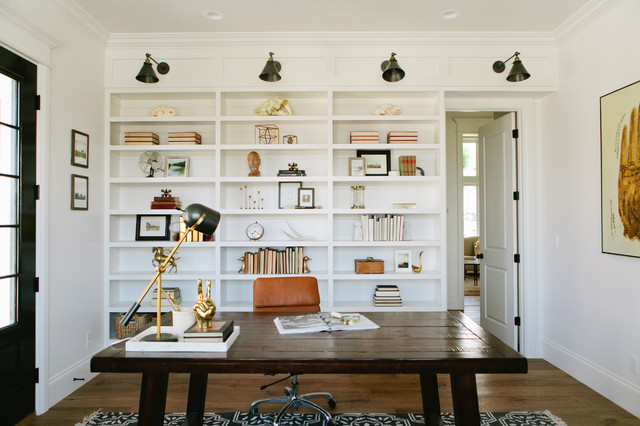 Modern Farmhouse Project Office Home